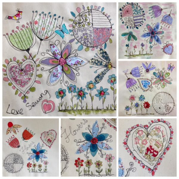 Machine embroidery designs for beginners makaroka