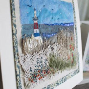 Embroidered seascape Workshop