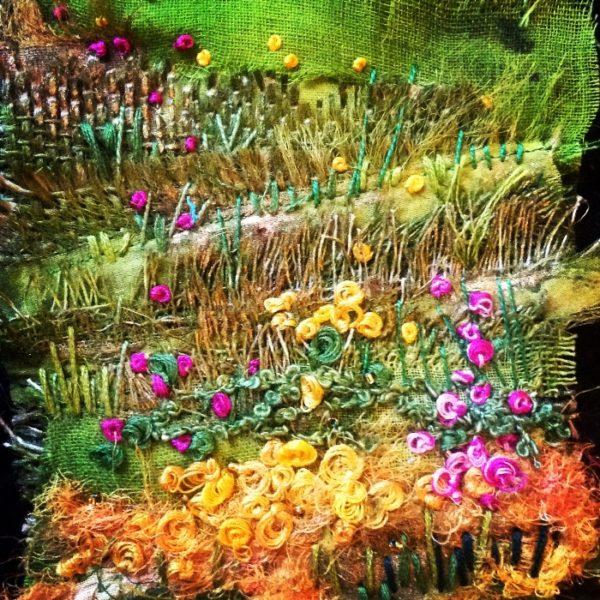 Interviewing textile artist- Deborah Collum