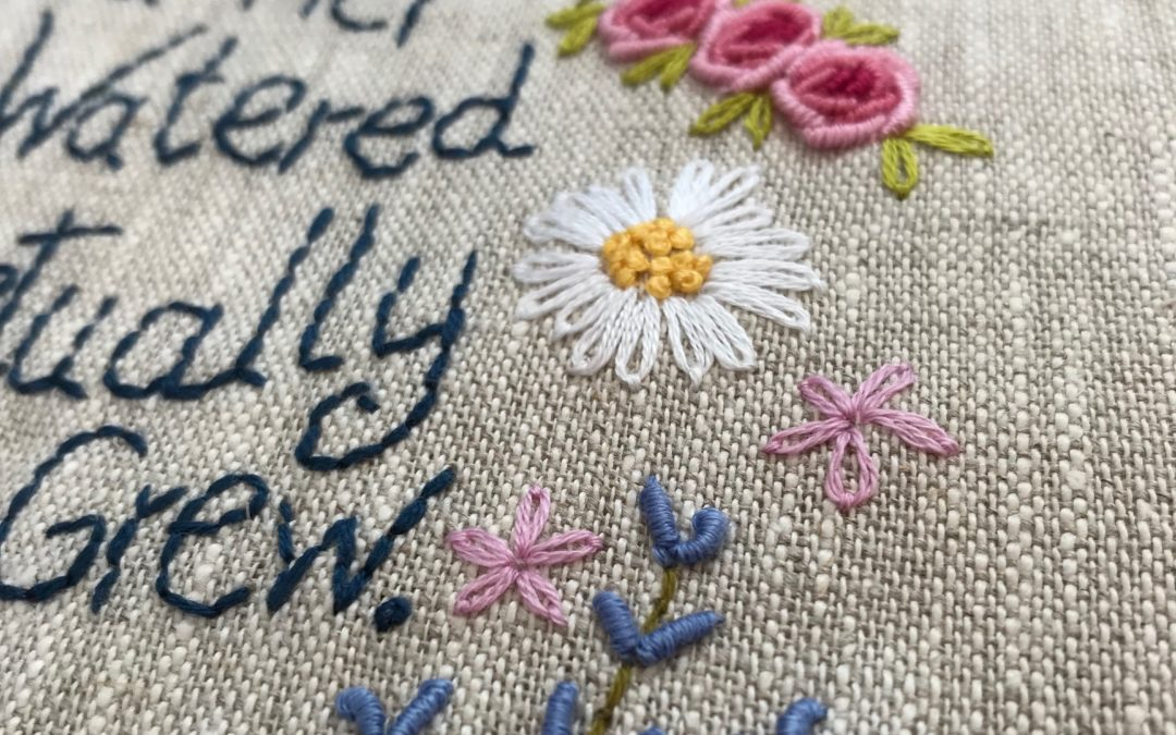 Top Tips for Successful Hand Embroidery