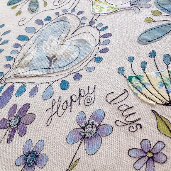 happy days machine embroidery